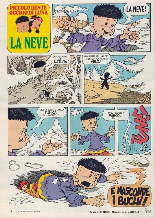 [La (di Nizzi Landolfi) Tratto  - corrierino | ello