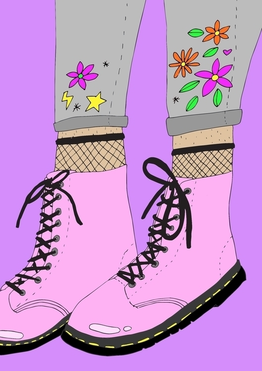 Boots - illustration - jessicavaughan | ello