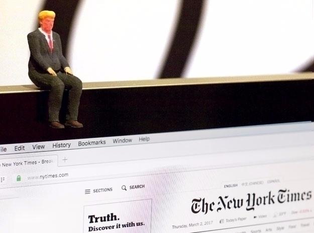 Itty Bitty Donald Trump. Sad - politics - joycomplex | ello