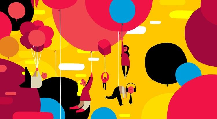 balloons audible range - illustration - ebencom   ello