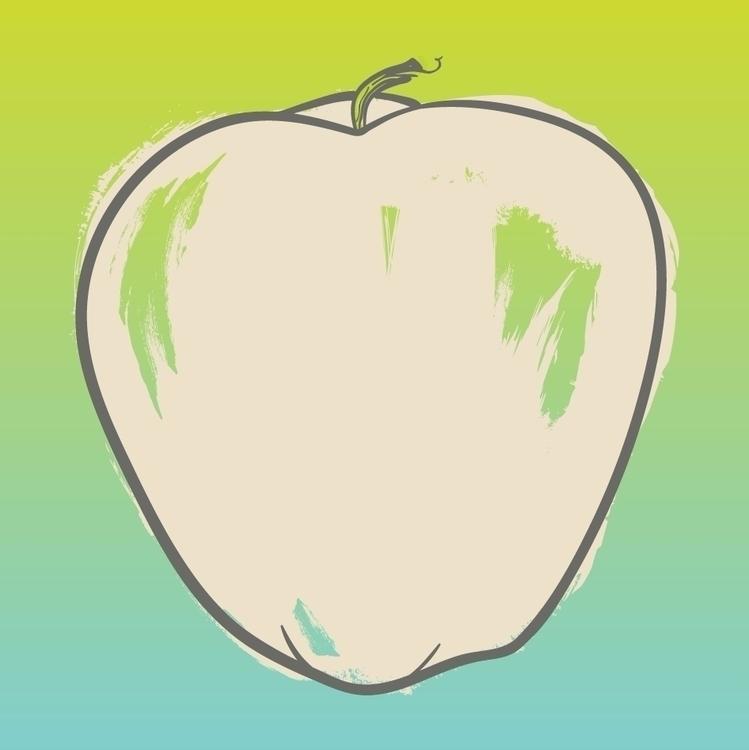 illustration, apple - tomqvaxy | ello