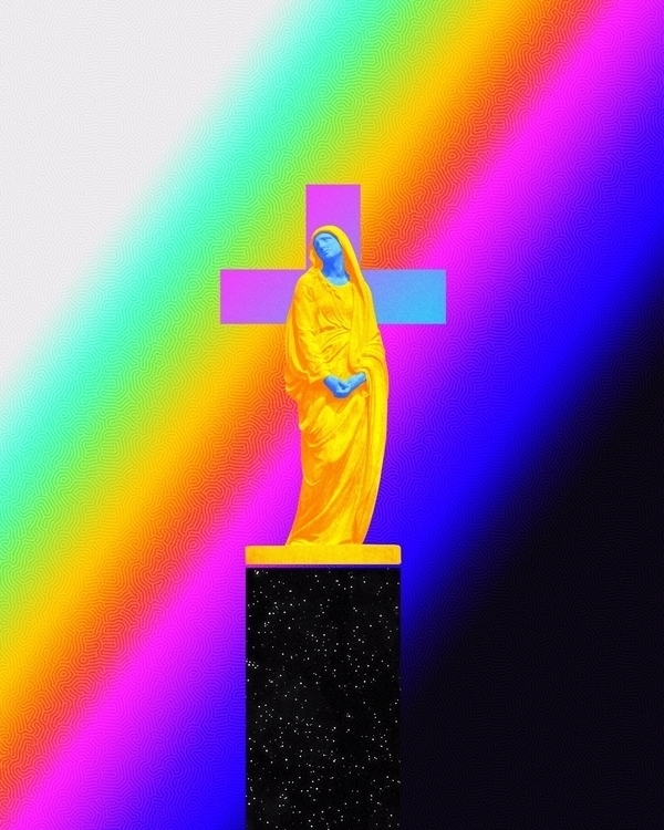 Faith - digitalart, abstract, artdaily - dorianlegret | ello