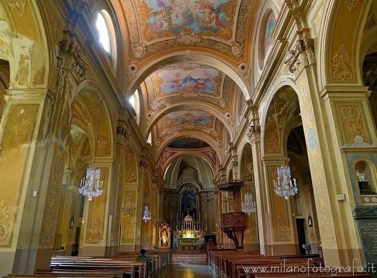 Micca ( , ): Interior Church Sa - milanofotografo | ello