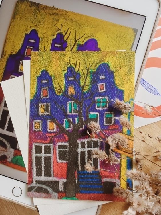 Postcards. Print Amsterdam. Pai - yd_studio | ello