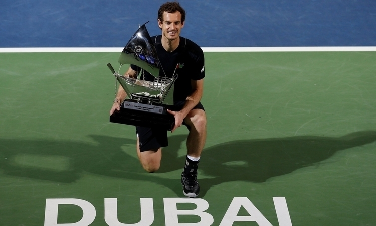 Andy Murray wins Dubai! World 1 - tennisblog | ello