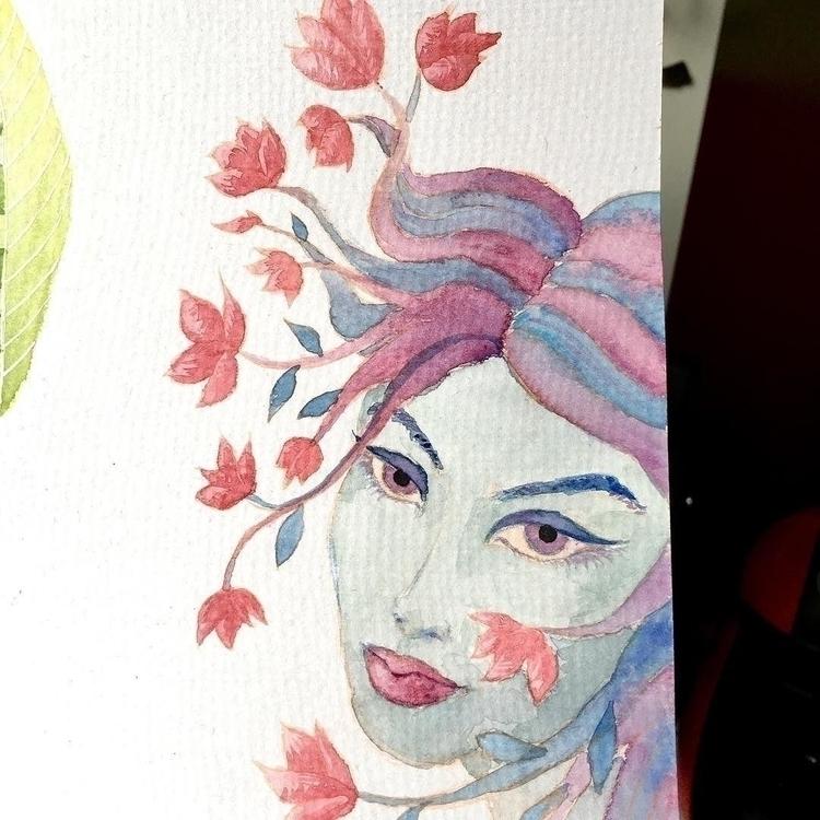 progress. finish - art, illustration - borianag | ello