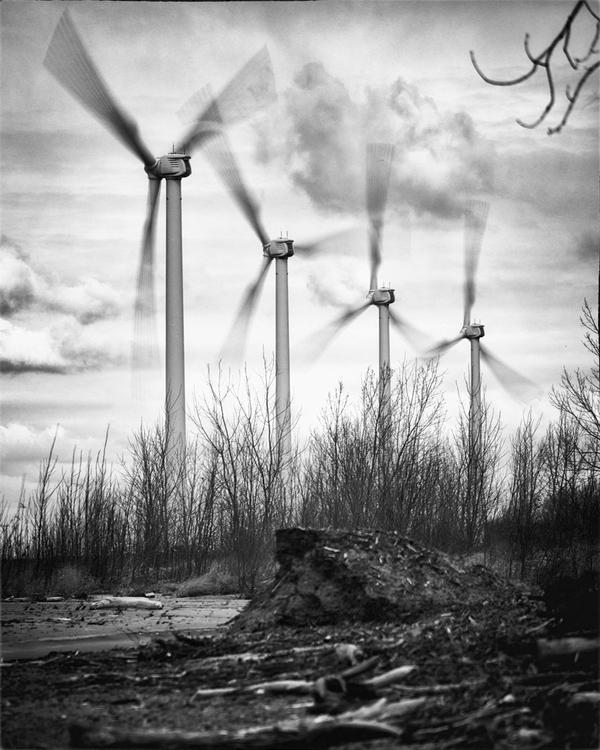 Lackawanna Windmill Farm Image  - neurodancer | ello