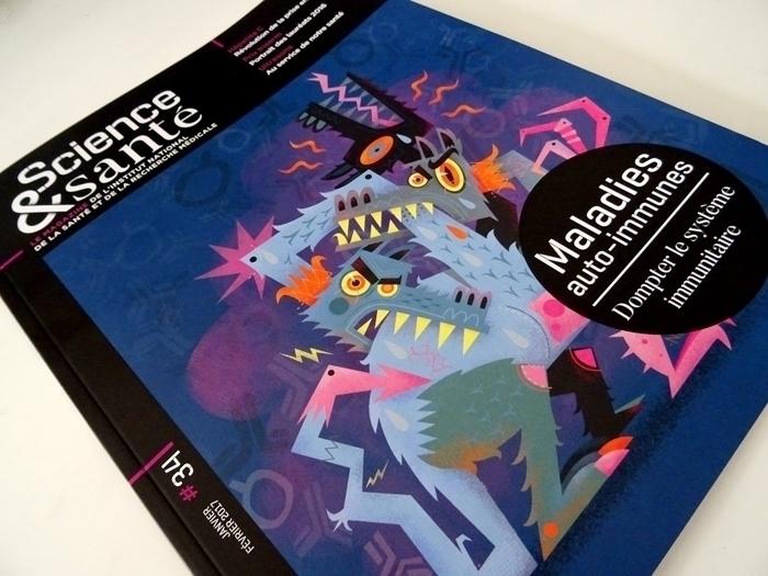 Cover illustration autoimmune d - niark1 | ello
