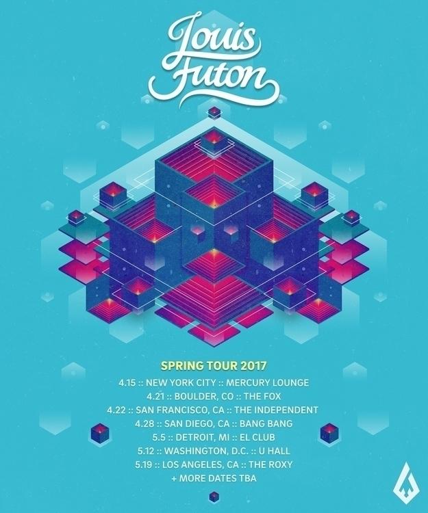 [Louis Futon: Spring Tour 2017 - stockandrender   ello