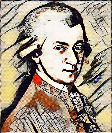 Mozart Kandinsky style - avatar - sirhowardlee | ello