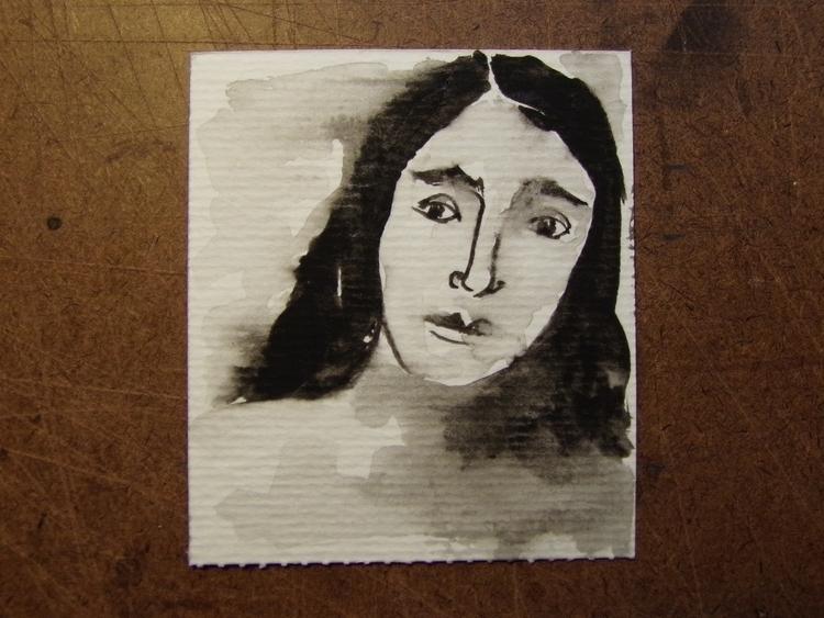Pequeño retrato, III Acuarela 7 - mirtanruiz   ello