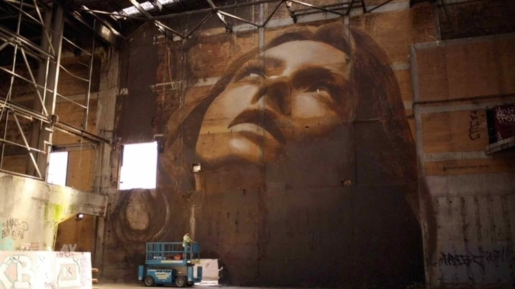 Street Artist Rone Creates TOP  - banksy | ello
