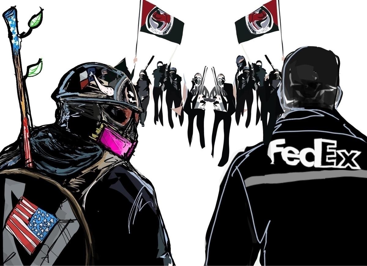 FedExPatriot, BasedStickMan, Americans - corvuslivy | ello