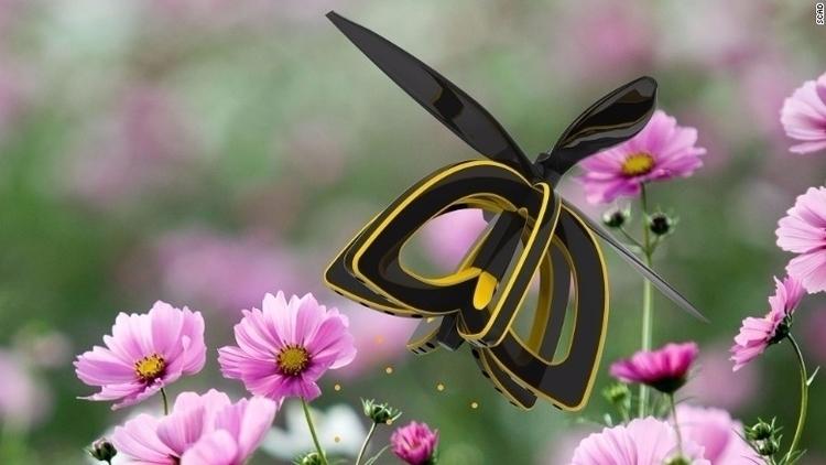 'Plan Bee' drone pollinate flow - bonniegrrl | ello