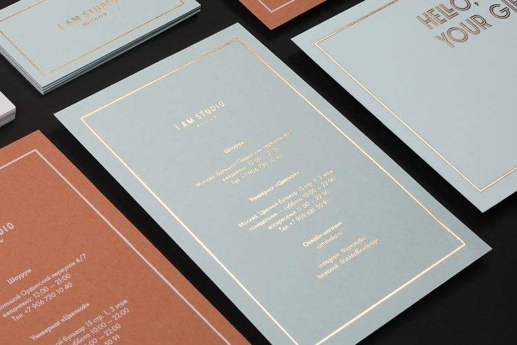 Rebranding fashion brand STUDIO - the_bakery | ello