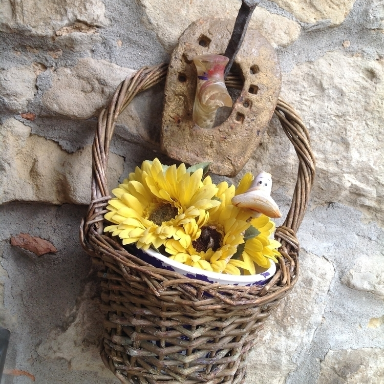 Home, small wicker basket flowe - magneticboys | ello