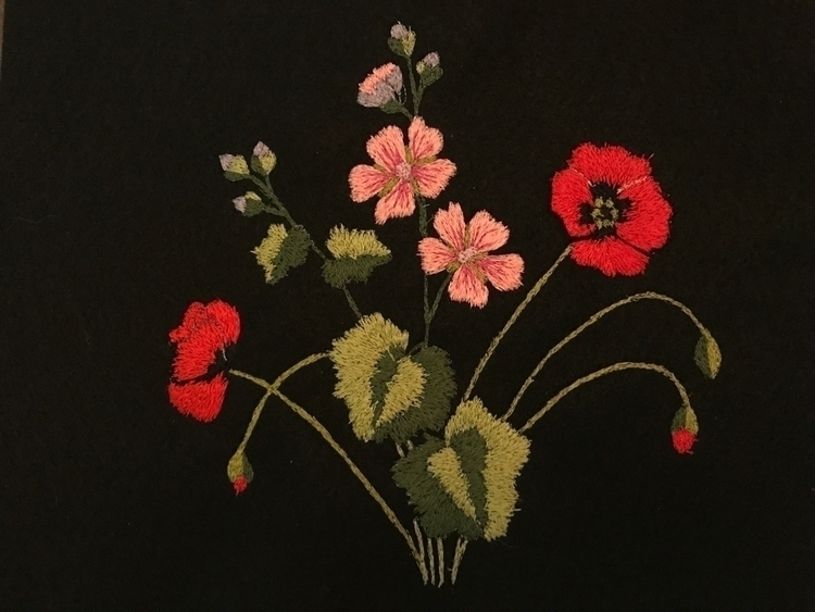 attempt flowers - embroidery - ryan   ello