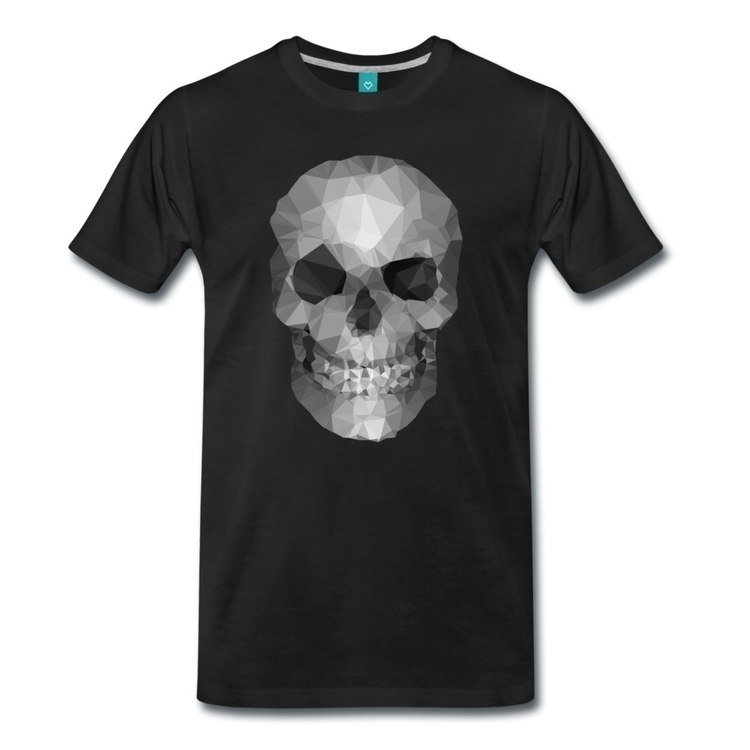 Polygons skull - colors women m - fredbahurlet | ello