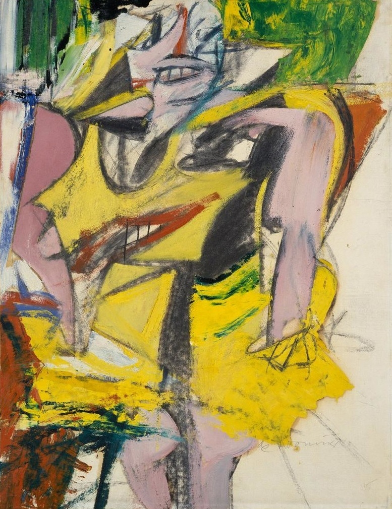 Willem de Koonig. Woman. 1952 - painting - modernism_is_crap | ello