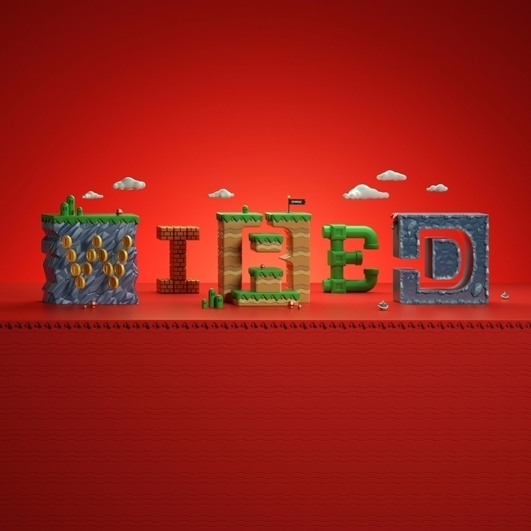 visual Wired UK - cgi, 3d, c4d - weareforeal   ello