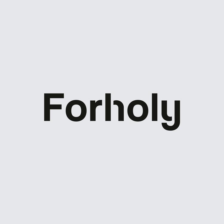 Forholy. Custom logotype commun - nikolastosic_ | ello