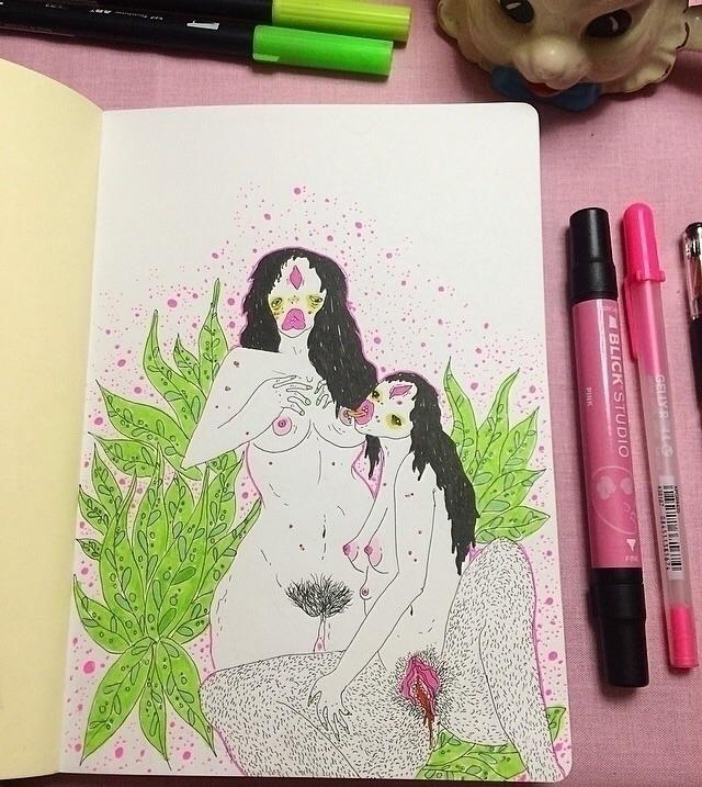 Sketchbook doodles - bronwynlorelei   ello