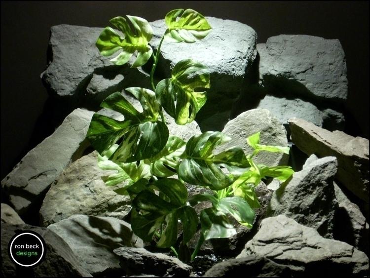 silk reptile terrarium plant: m - ronbeckdesigns   ello