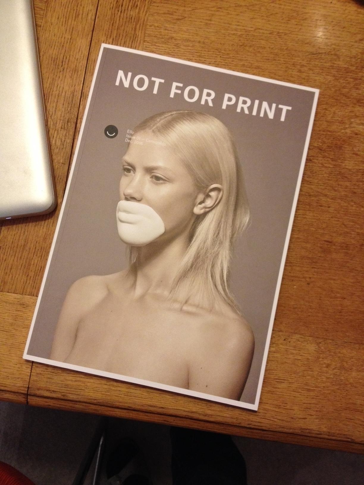 Today received copy PRINT. Wauw - gudakoster | ello