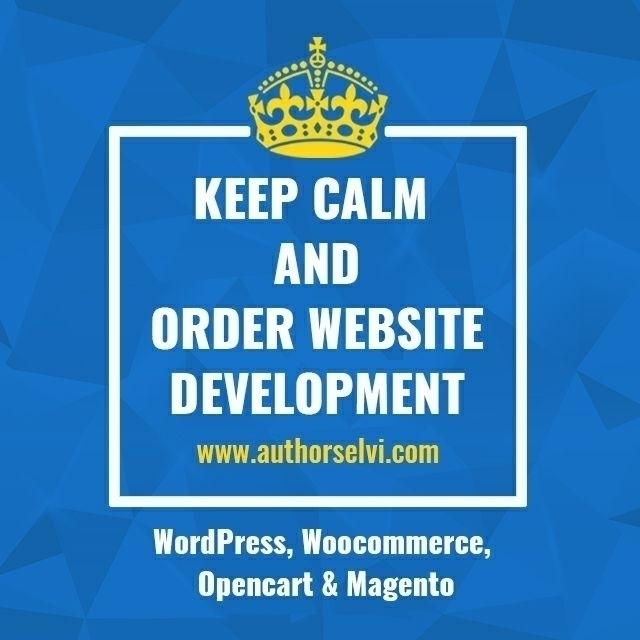 Order website - webdesign, designer - authorselvi | ello