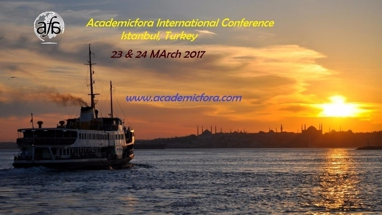 Istanbul 42nd International Con - academicfora | ello