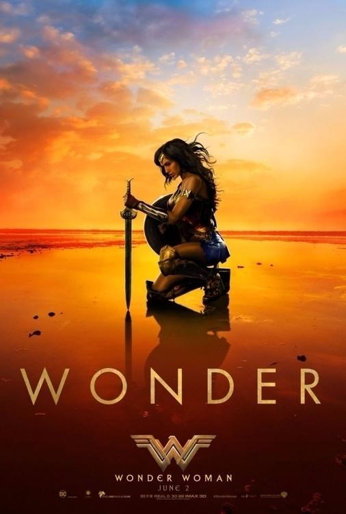 Woman trailer, poster show calm - bonniegrrl | ello