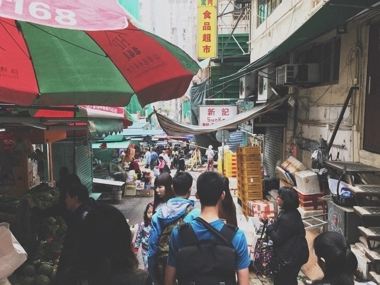 HKG street market, February 201 - benjaminchait | ello