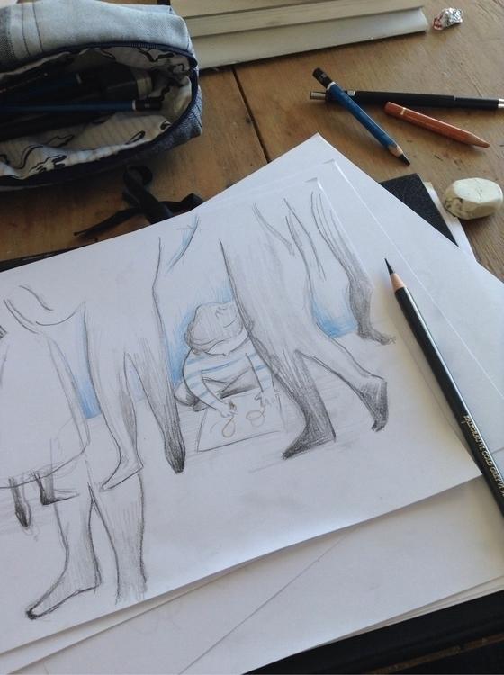 Sunday sketching - tereau | ello