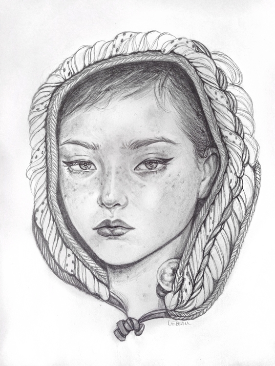 doodle watching series Netflix  - edithlebeau | ello