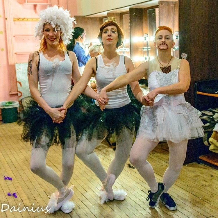 Dance swans - ballet, parody, candyasscabaret - velmacandyass | ello
