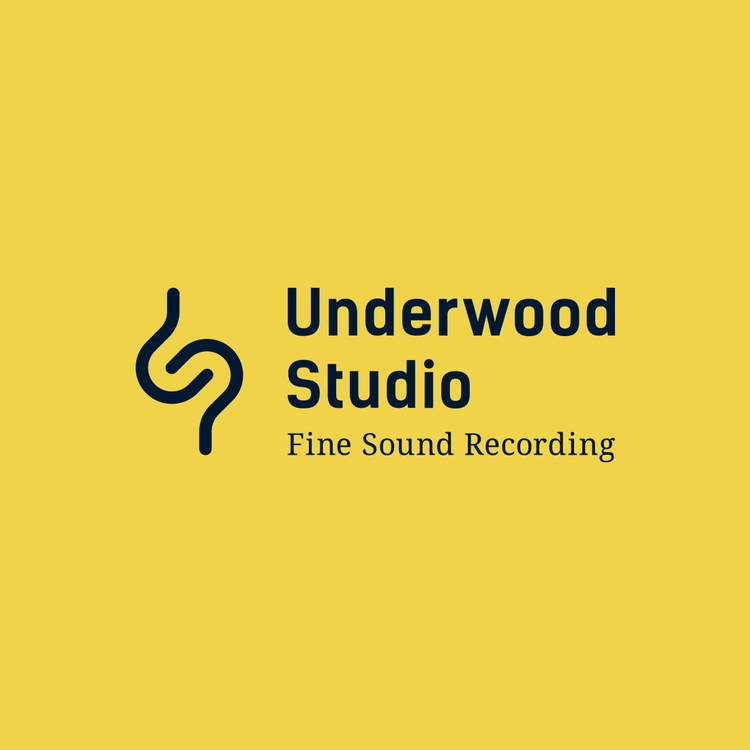 Recording studio logo design