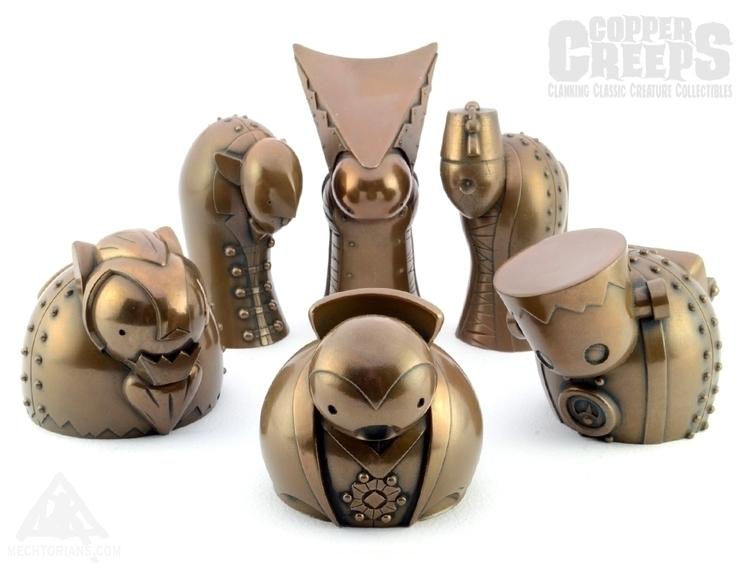 Copper Creeps ( finishes) stock - doktor_a   ello