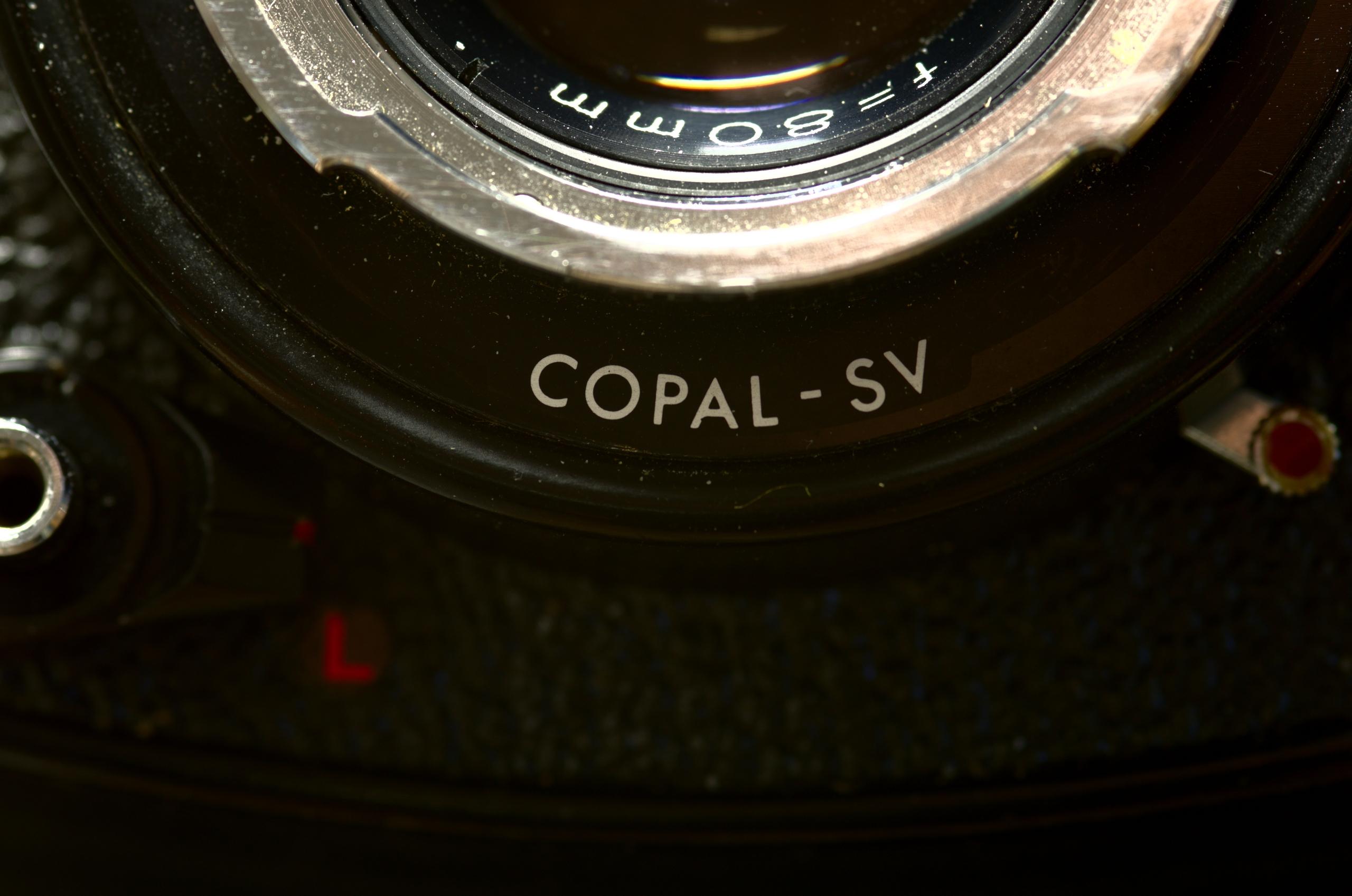 Copal SV Mk. II. 1:2.8/105mm Ma - walter_ac | ello
