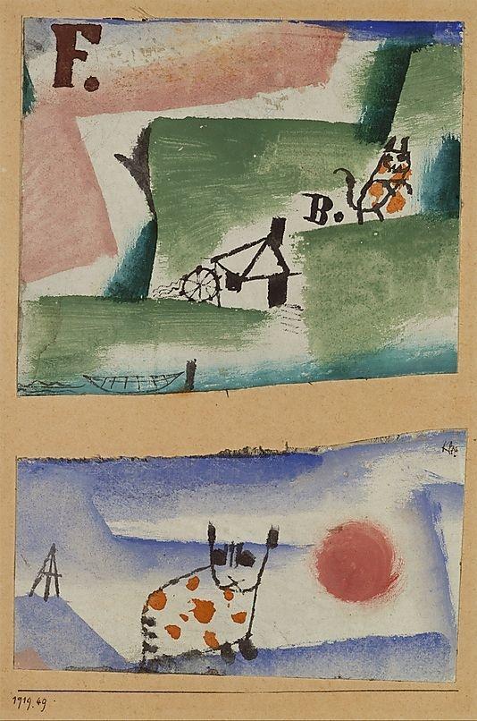 Paul Klee: Turf, 1919 - arthurboehm | ello