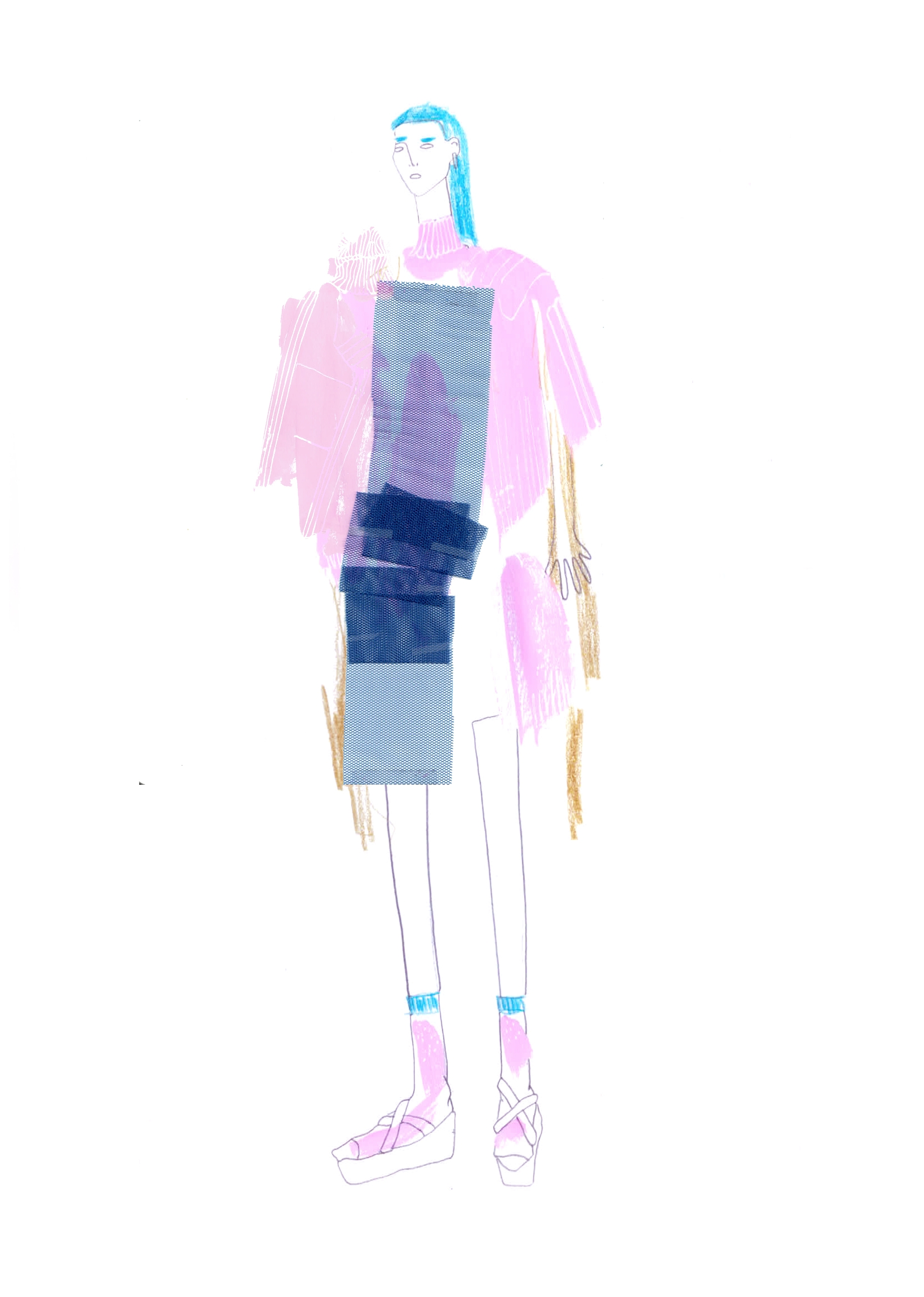 fashion moi - illustration - ch-url | ello