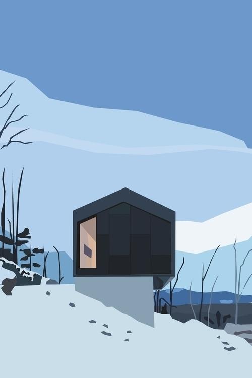 House designed Naturehumaine - illustration - sophieillustration   ello