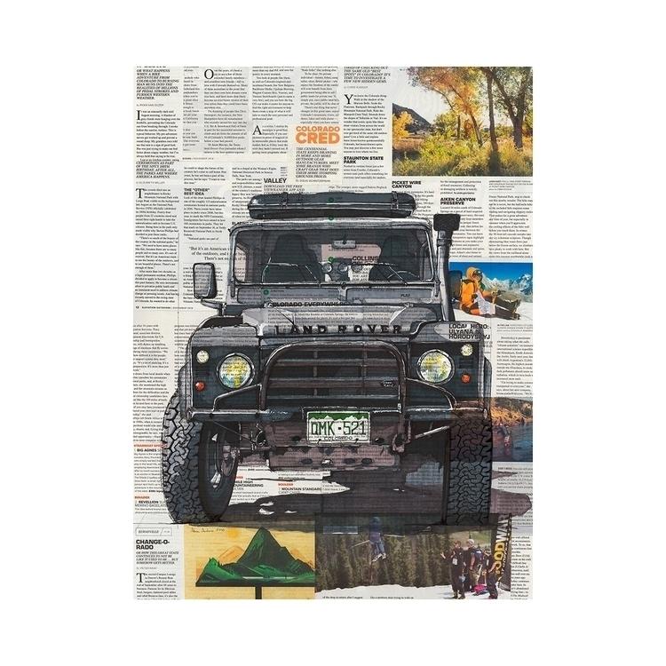 Land Rover 20x30, pen marker ne - ajambro | ello