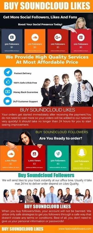 Buy soundcloud likes individual - buysoundcloudlikes | ello