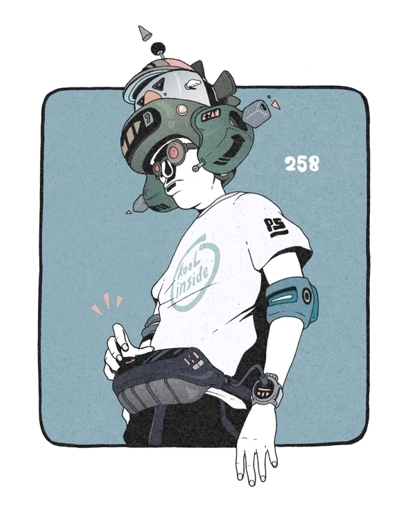 Day 258/365: Kool - illustration - 1sles | ello