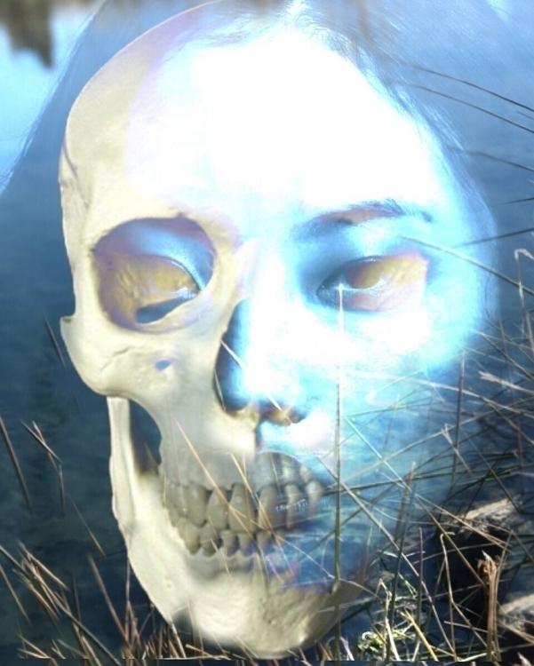 Beneath skin bones. water soul - amberosered | ello