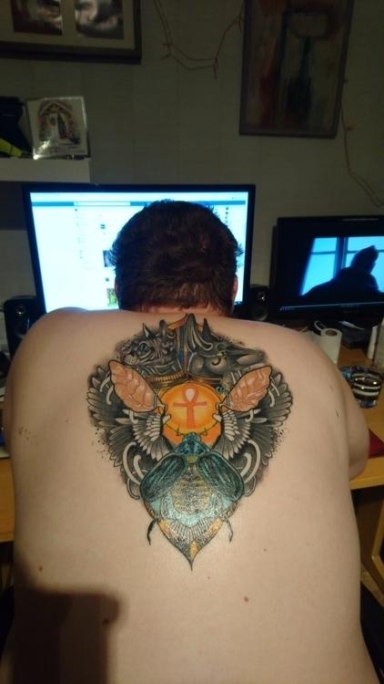 newest tattoo courtesy Camilla  - paulfoulkes | ello