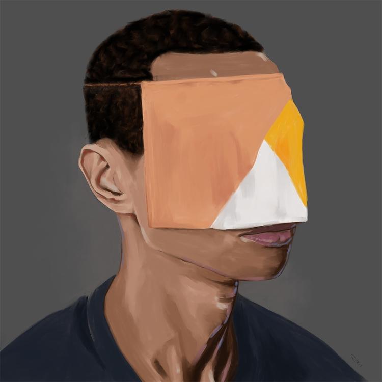 Personal 1 Digital, 2017 - procreateapp - notbadart | ello