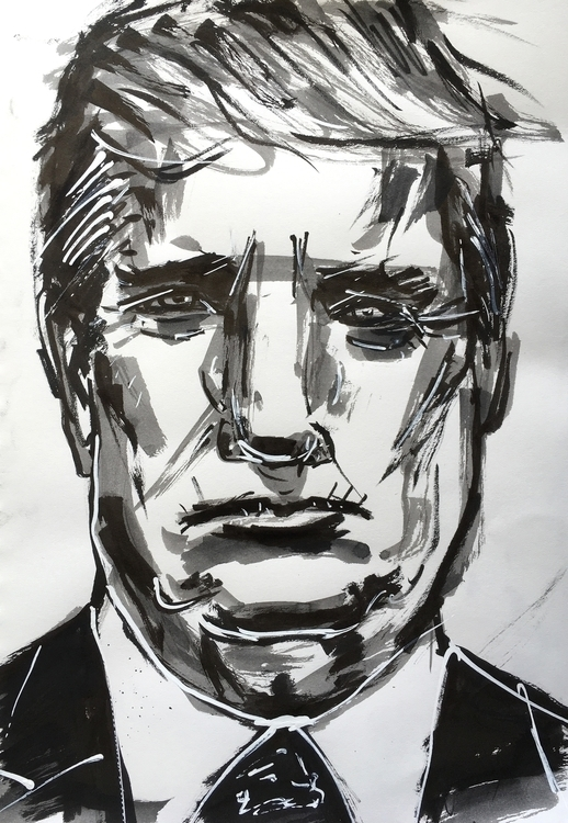 Untitled: 45 - ink, pen, brush, marker - veryveryserial | ello