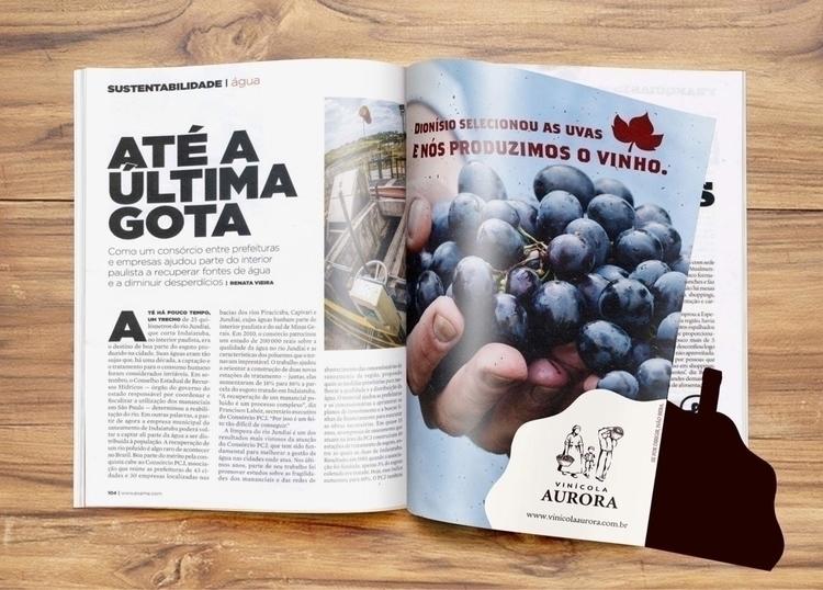 Magazine Wine Ad (University Jo - castilhobruna | ello