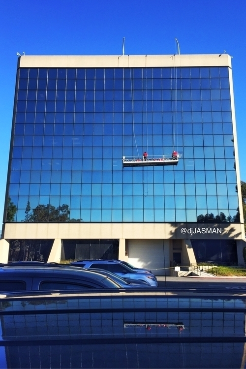 building, grid, windows, windowcleaner - djjasman   ello